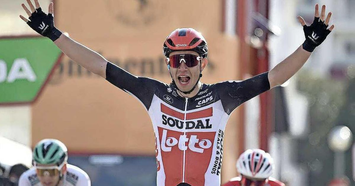 Andreas Crohn won the first leg of the Volta A Catalonia in Gallella  Cycling