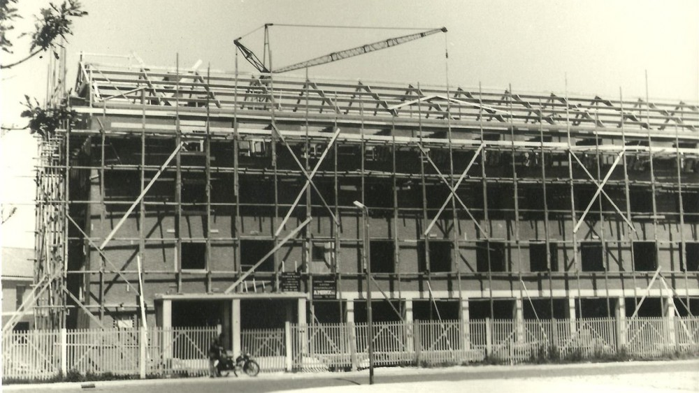 Den Helder has been building a new city 75 years ago: light, air and space