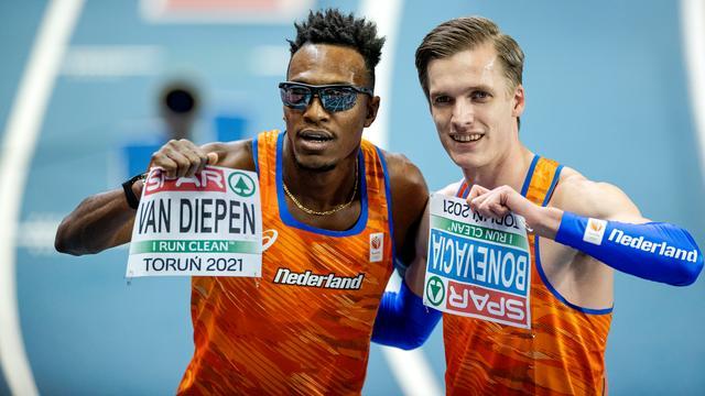 Liemarvin Bonevacia and Tony van Diepen each claimed a medal in the 400 meters.
