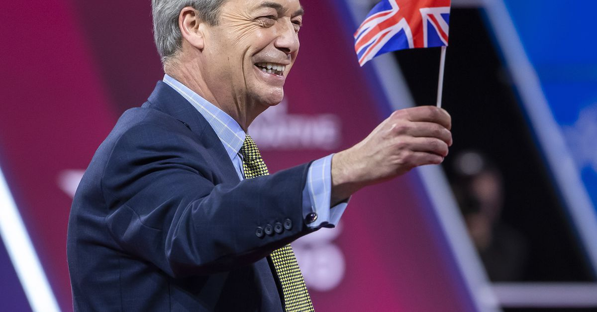 Farage exits EU as UK reform leader withdraws from 'active politics'