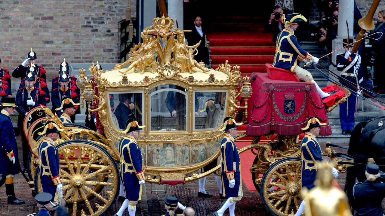 Golden Coach exhibited at the Amsterdam Museum from June 18 |  Currently