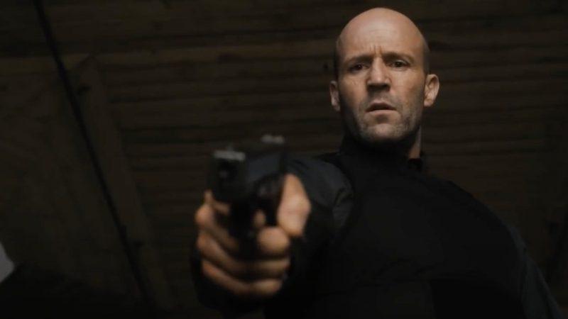 Jason Statham in the Cache Trax rock trailer