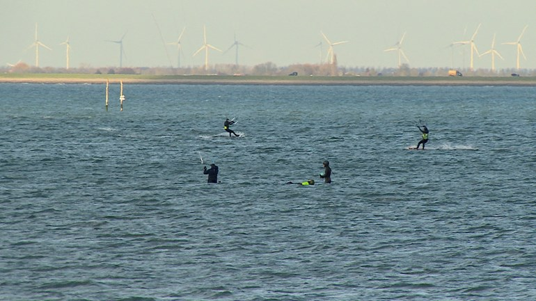 Kite surfers: Give us space to exercise