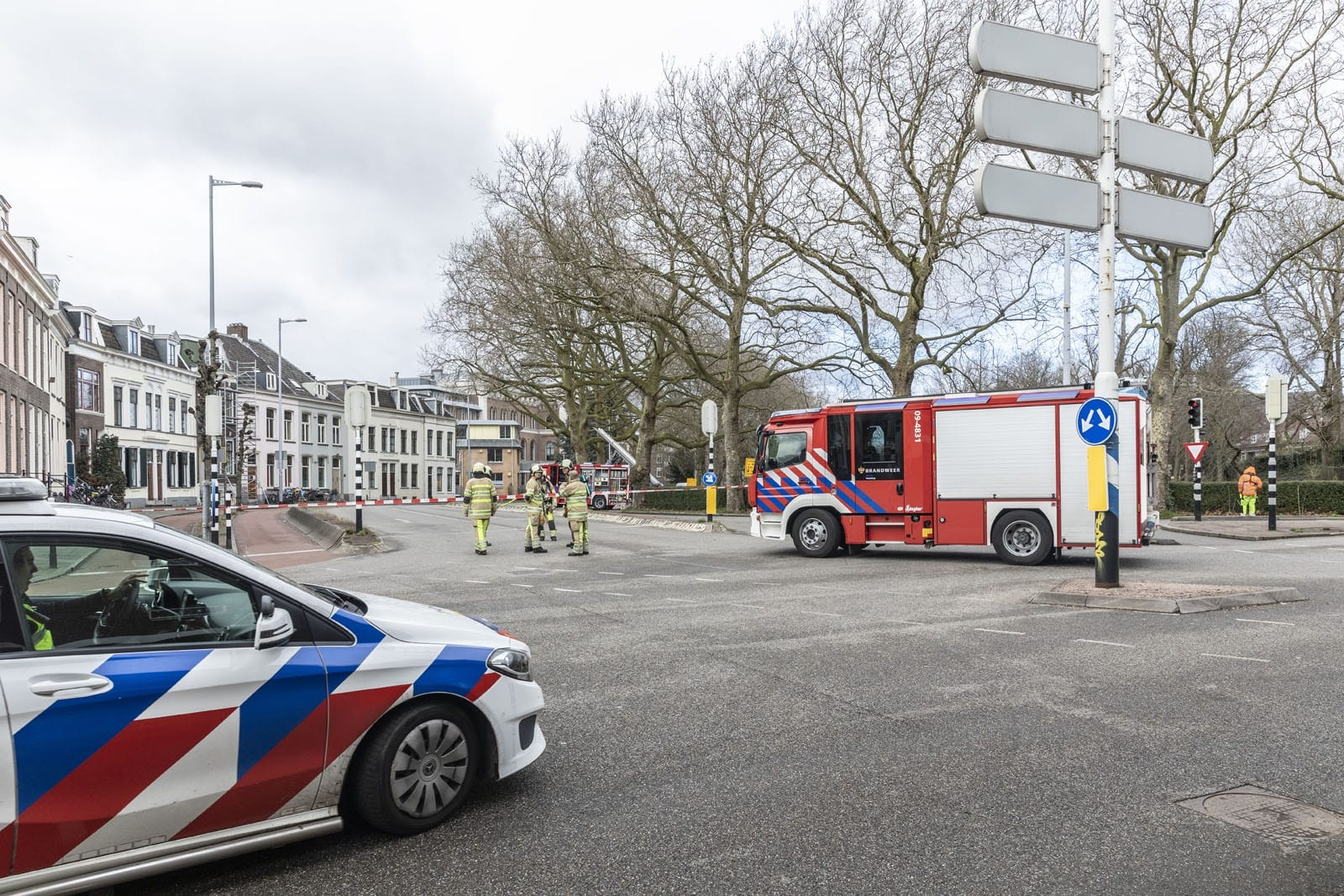 Major gas leak at Utrecht Catharijnesingel closed after two hours