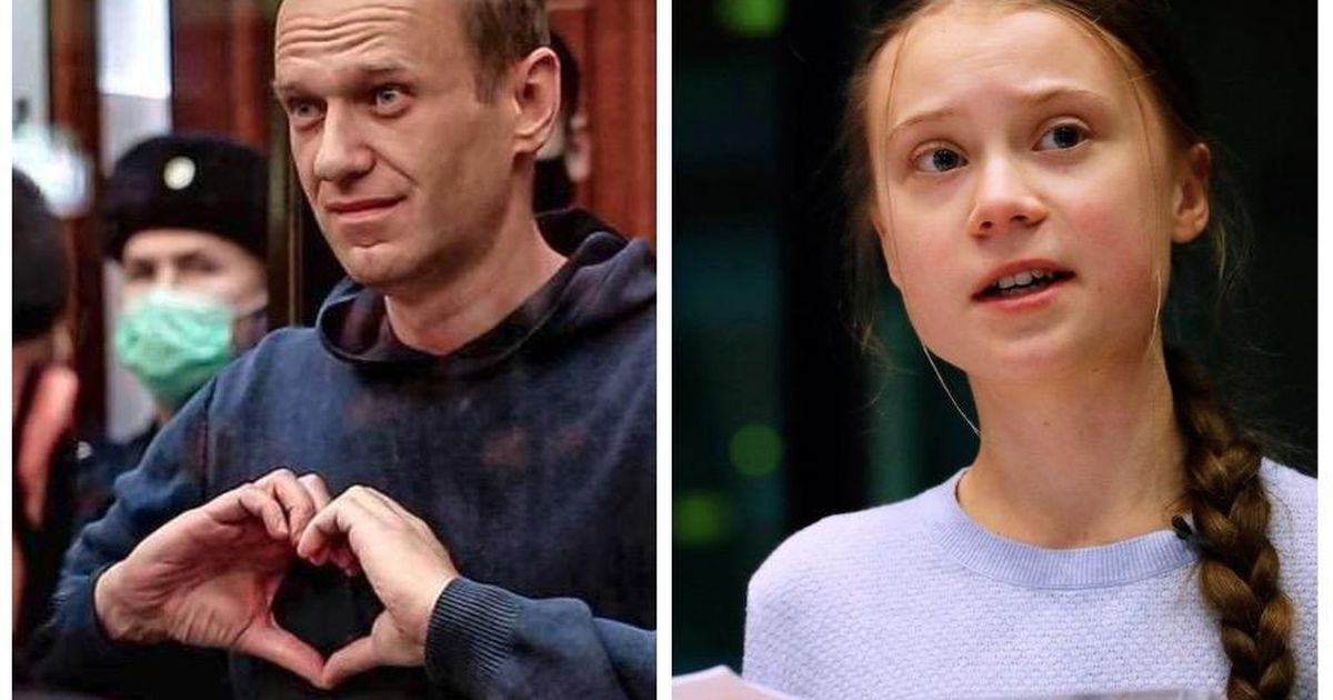 Navalny and Tonburg are among the nominees for the Nobel Peace Prize    Abroad