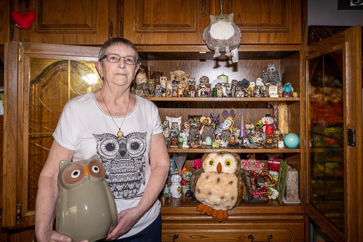 Rita has been collecting owls for over 40 years – KW.be