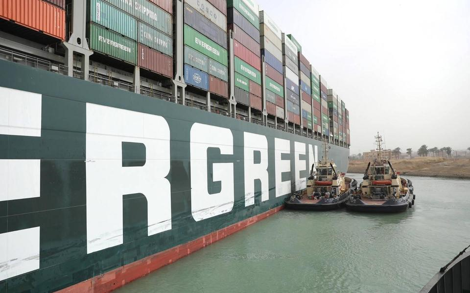 Ships choose to voyage around Africa rather than the Suez Canal