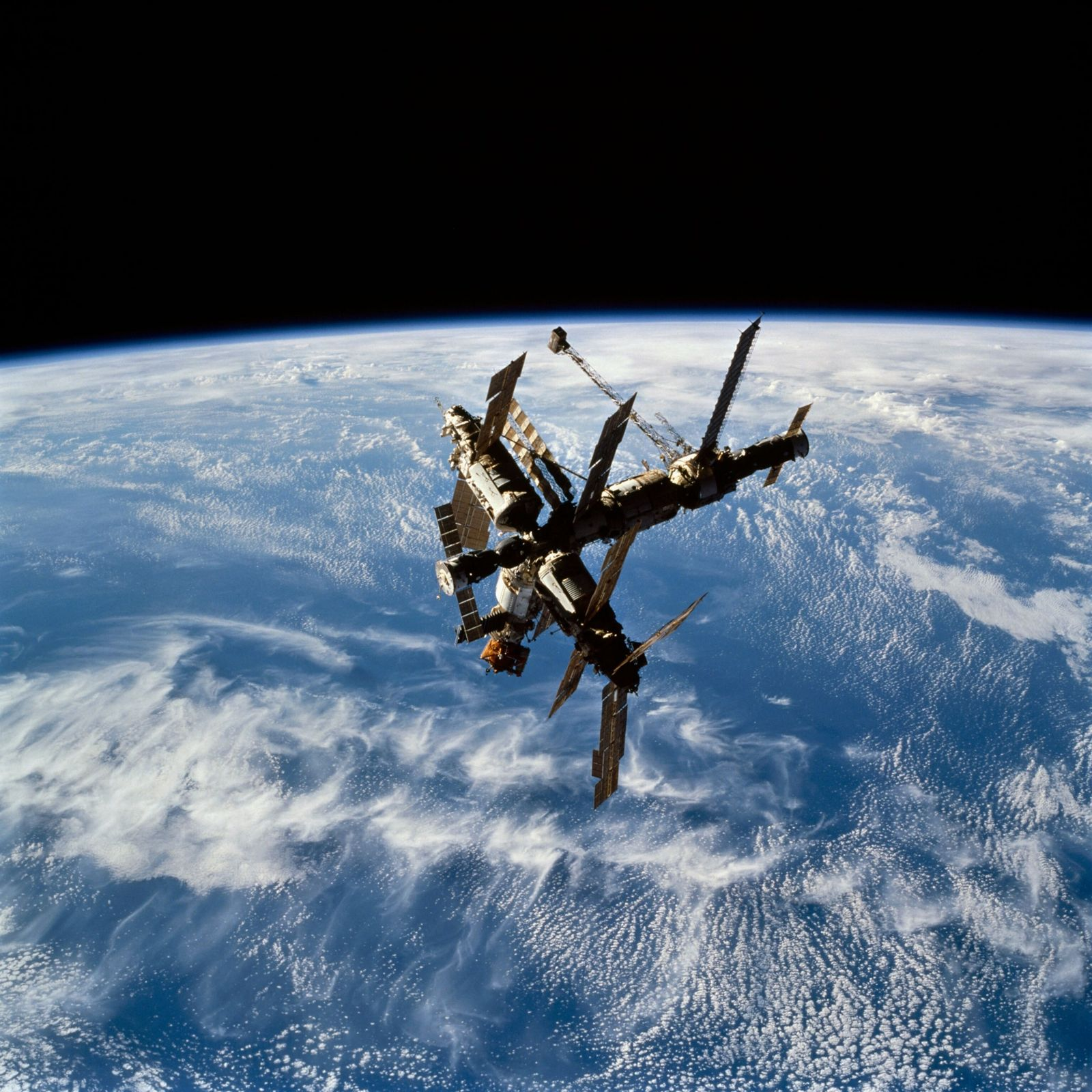 The dramatic rise and fall of the Russian space station