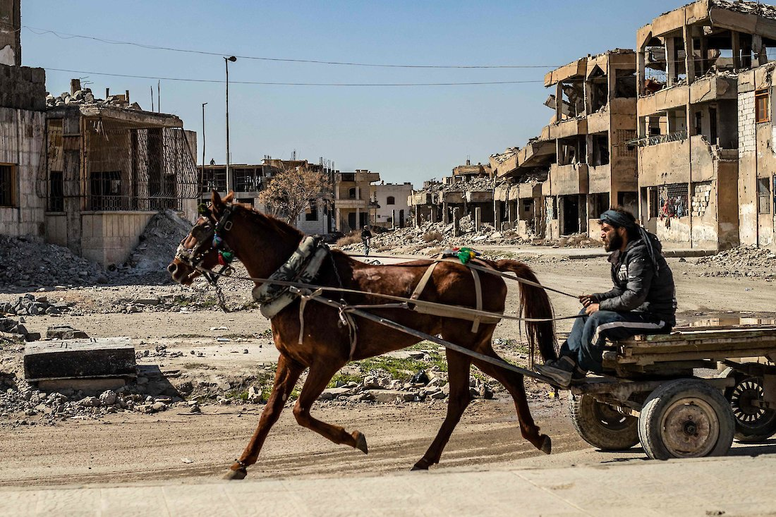 The rest is relative concept in Raqqa