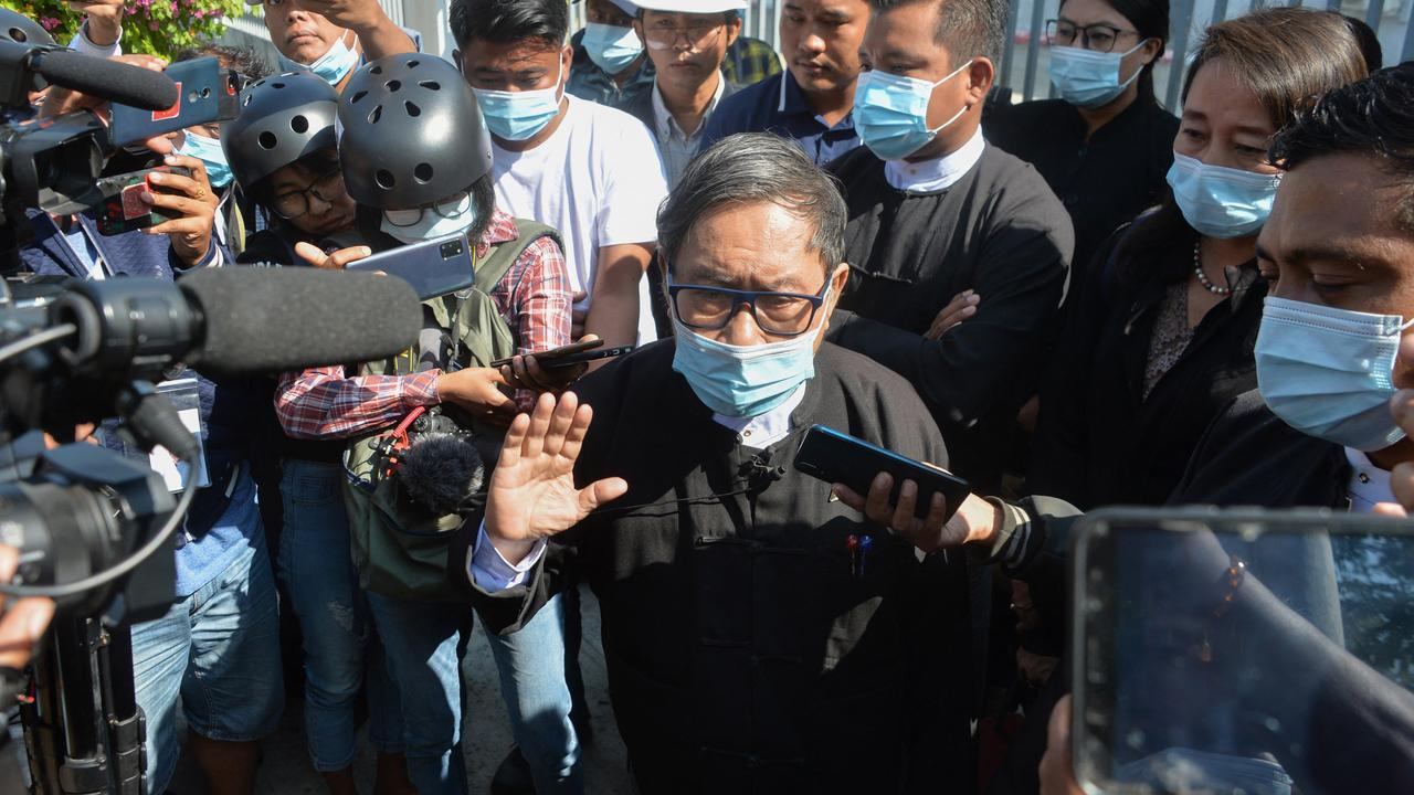 Two additional charges against the ousted President of Myanmar    Currently