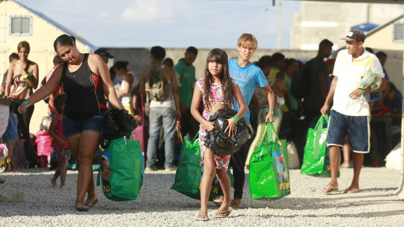 Venezuelans who have fled to the United States are allowed to stay for the time being