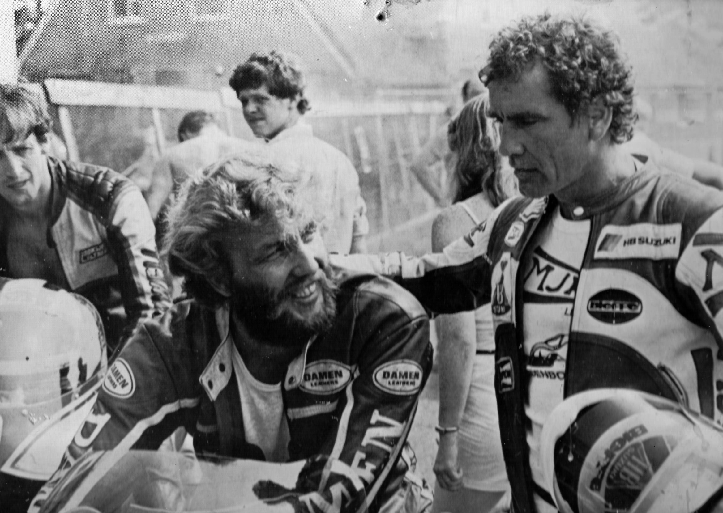 Dutch road racing star at the time: Heine Lentink