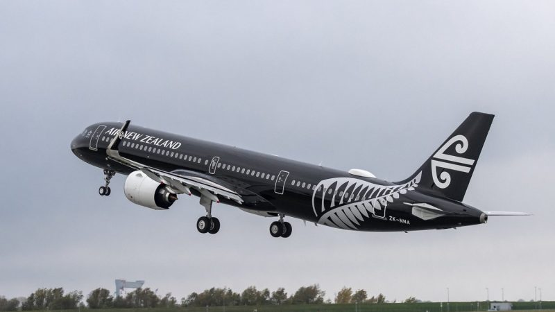 Air New Zealand weighs passengers before departure