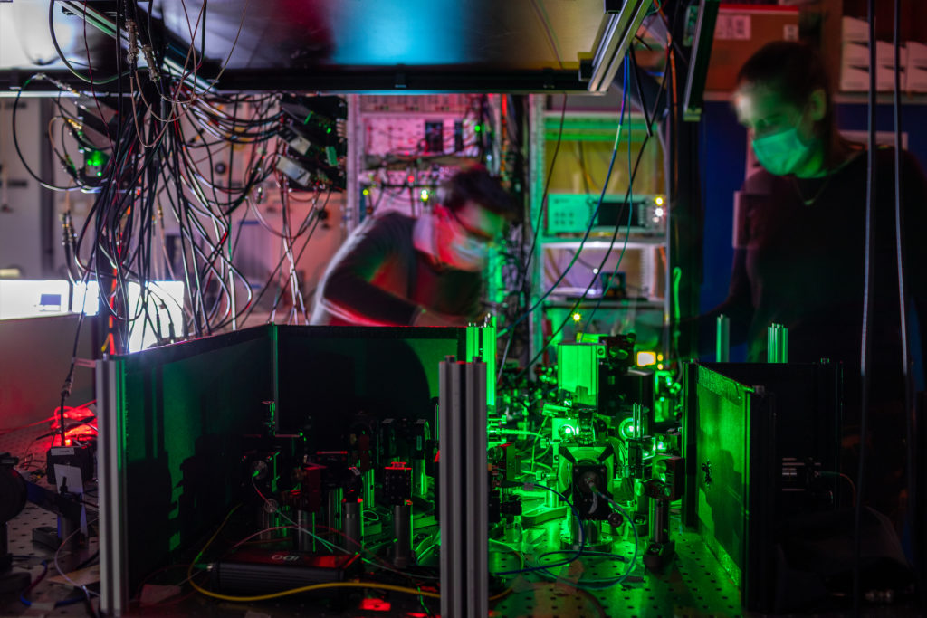 The first quantum network built in the world