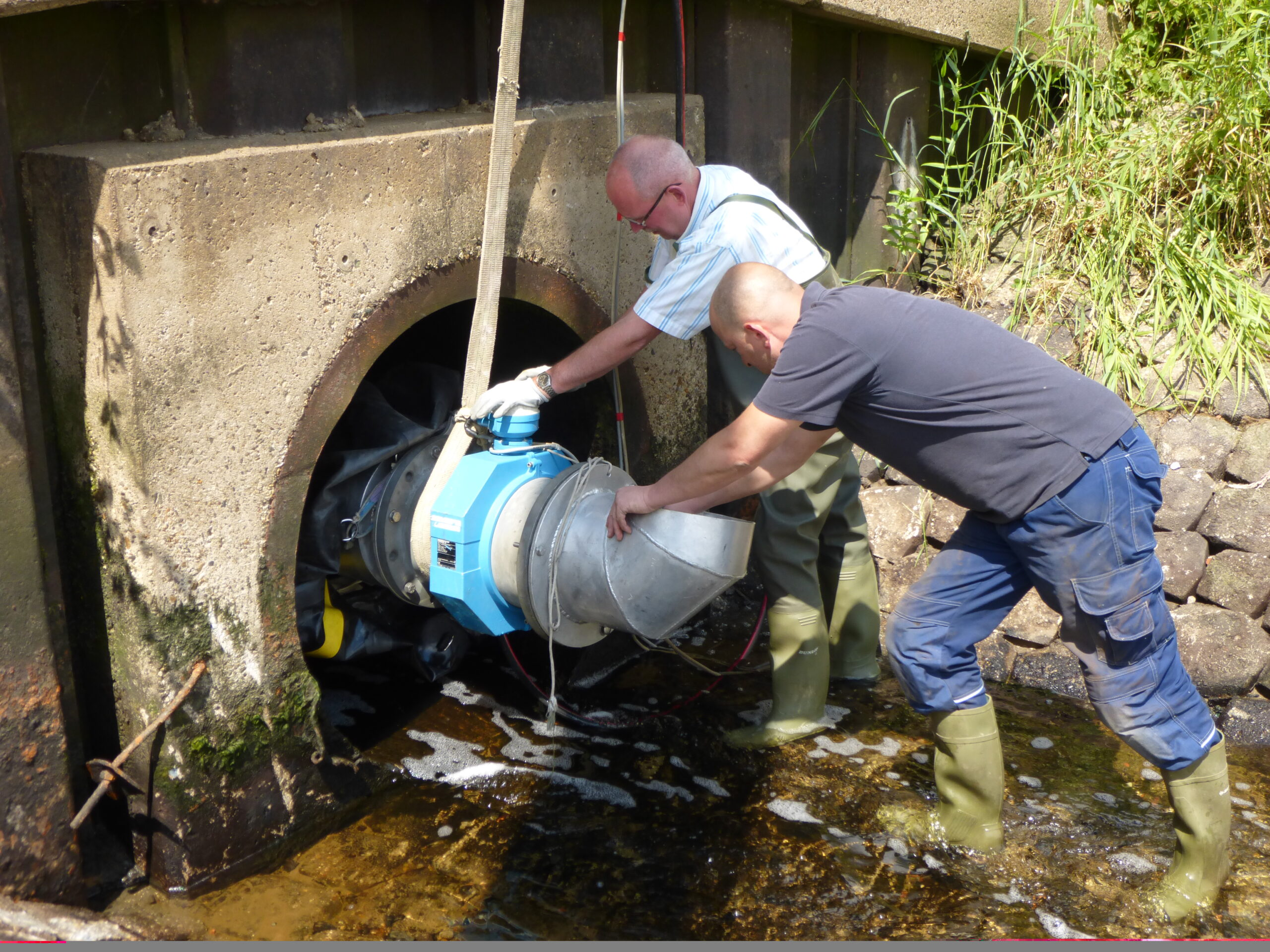 No space yet accurately measures water flow • NL pump