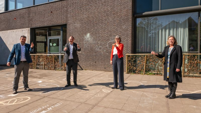 Additional space for Bernard Levegoid School