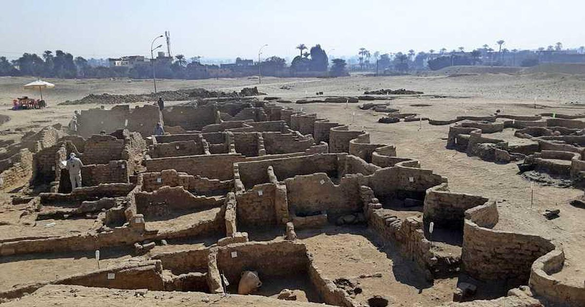 Archaeologists find an ancient city from the time of the Pharaohs in Egypt |  Date