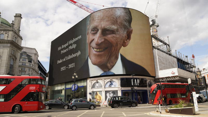 Complaints about BBC programming after Philip's death amounted to more than 100,000