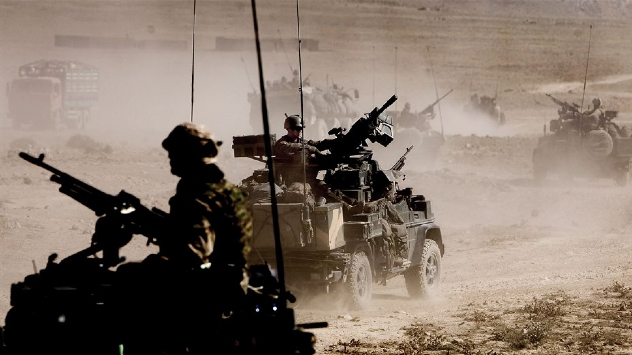 Dutch soldiers leave Afghanistan