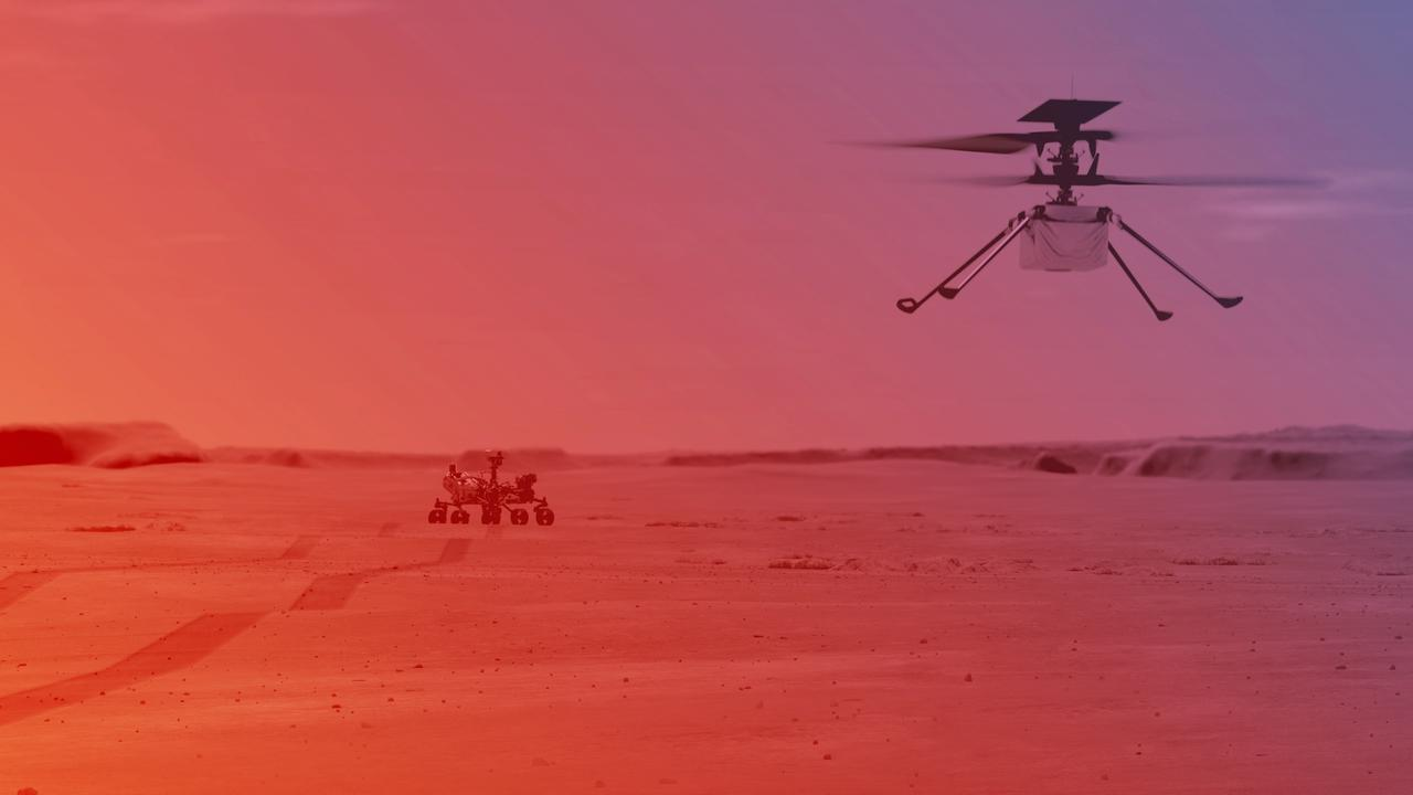 First helicopter flight on Mars postponed due to technical issue |  right Now