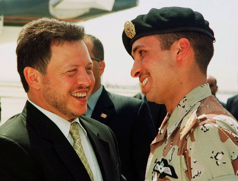 Fraternal quarrels subsided in the Jordanian royal family, but rumors of conspiracy against the king persist