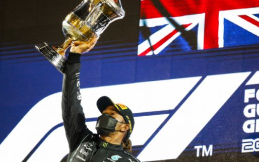 Hamilton's victory in Bahrain was Britain's 300th victory in the F1
