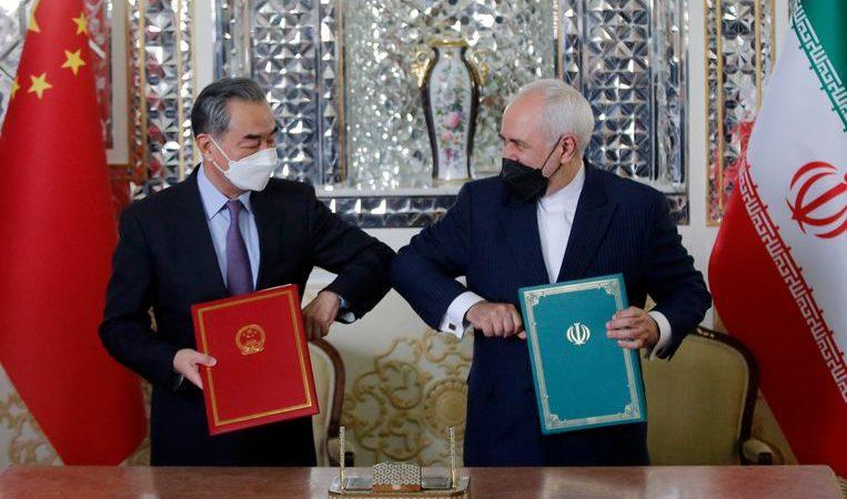 Iran and China strengthen ties: 'the post-us era has begun'