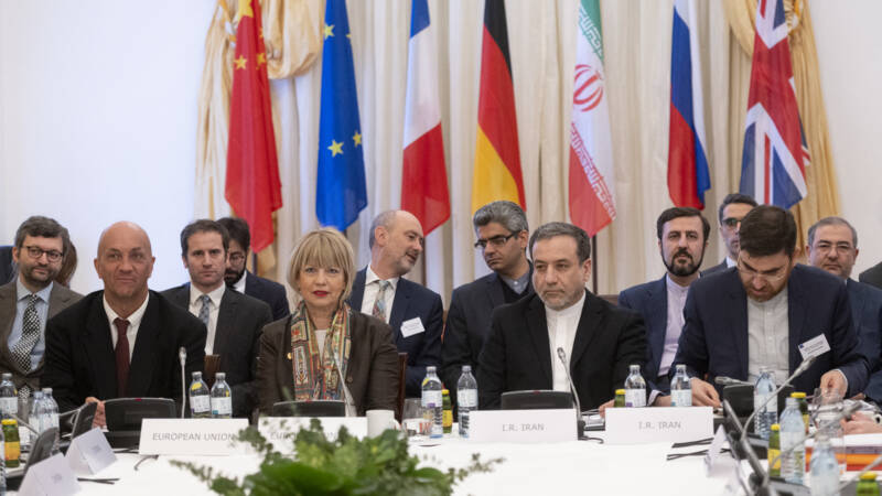 Iran is in talks with world powers over the return of the United States to a nuclear deal