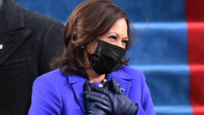 Kamala Harris Sworn In as First Vice President of the United States    right Now