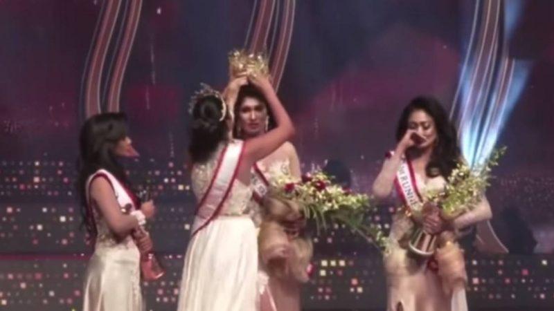 Miss Sri Lanka Should Immediately Return Her Crown Because Divorced |  Abroad