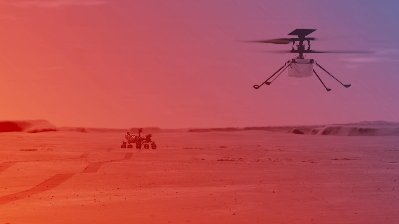 NASA Marshelicopter Flies Higher and Longest in Second Test Flight    right Now