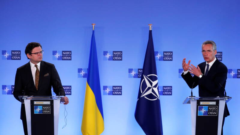 NATO Secretary General warns Russia: Stop troop building on the Ukrainian border