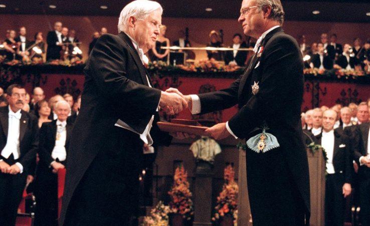 Nobel Prize winner Robert Mondale died - de Standard