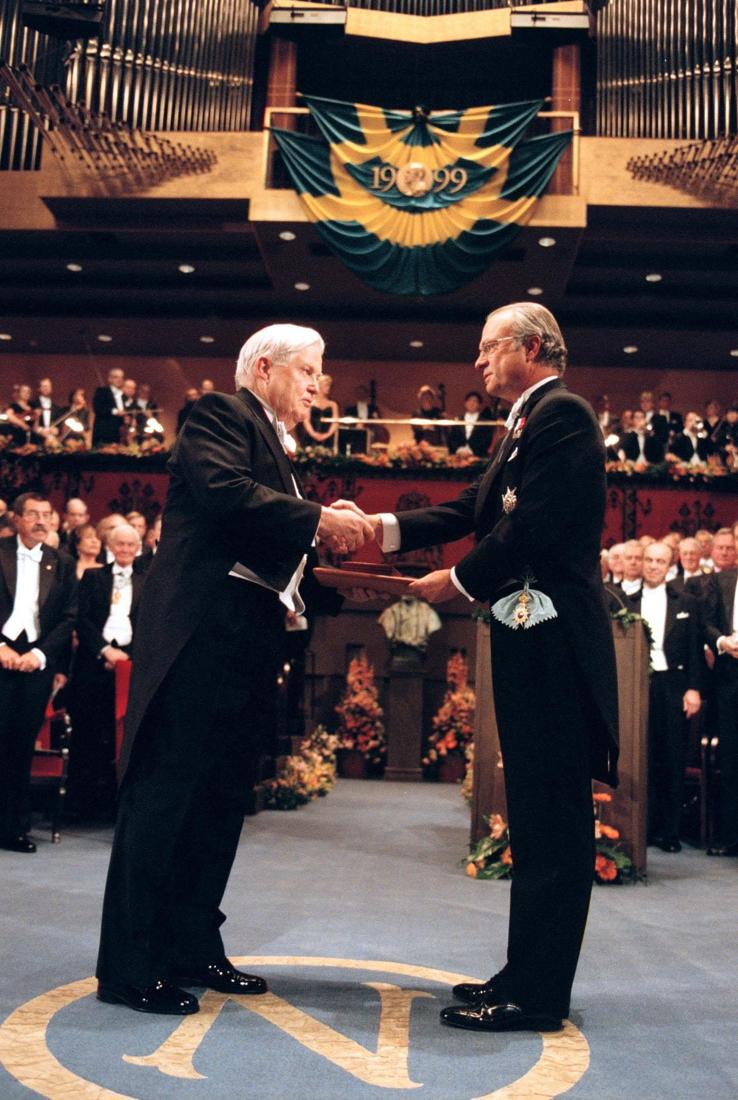 Nobel Prize winner Robert Mondale died – de Standard