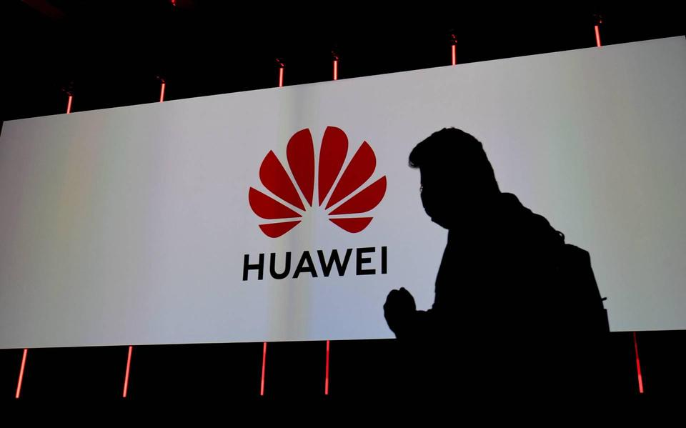 Revenue from tech company Huawei is falling sharply due to US sanctions