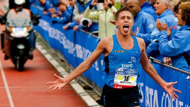 Michael Butter achieved his personal best in 2012 in Amsterdam.
