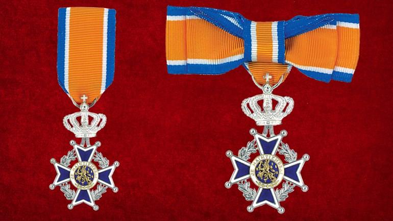 Lid in de Orde van Oranje-Nassa, man(l), vrouw(r)