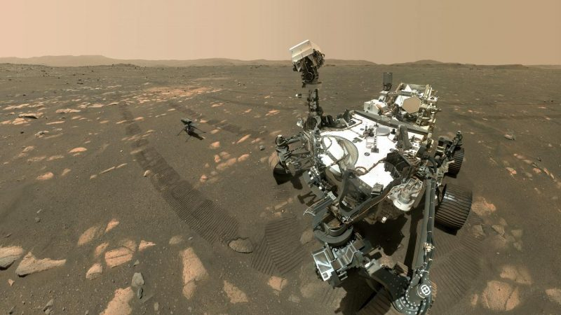 The Mars Rover produces oxygen for the first time on a planet other than Earth |  right Now