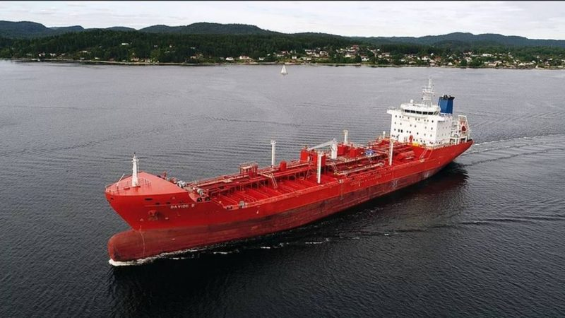 """The release of 15 kidnapped crew of the oil tanker """"David B"""" 