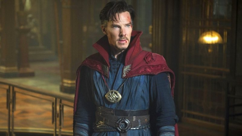 "The slogan ""Doctor Strange in the Multiverse of Madness"" gets an amazing new logo"