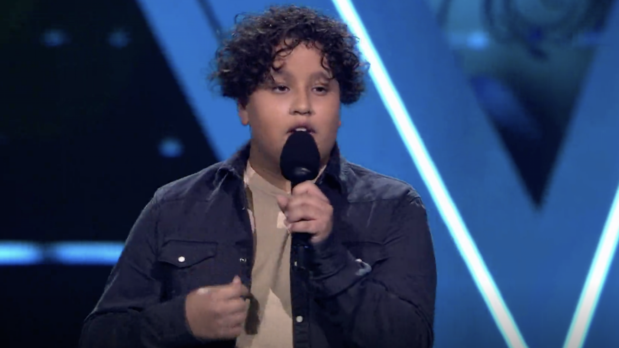 "The voice coaches moved with the experience of Sufyan's ""The Magic"" performance"
