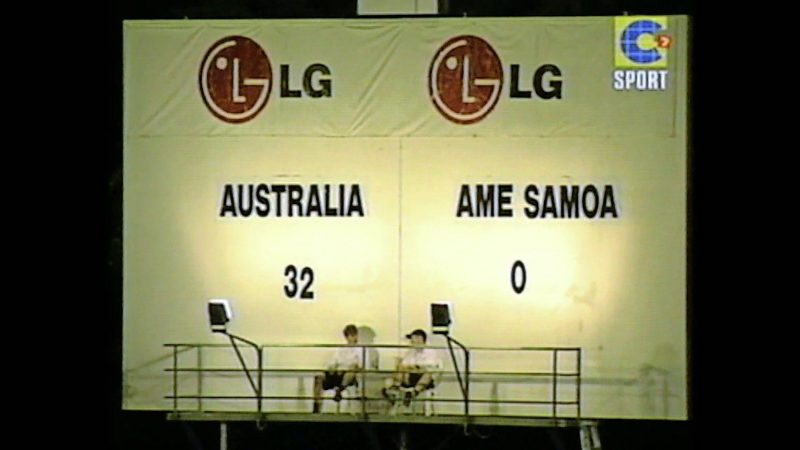 Today in 2001: Australia destroys American Samoa by 3 ...