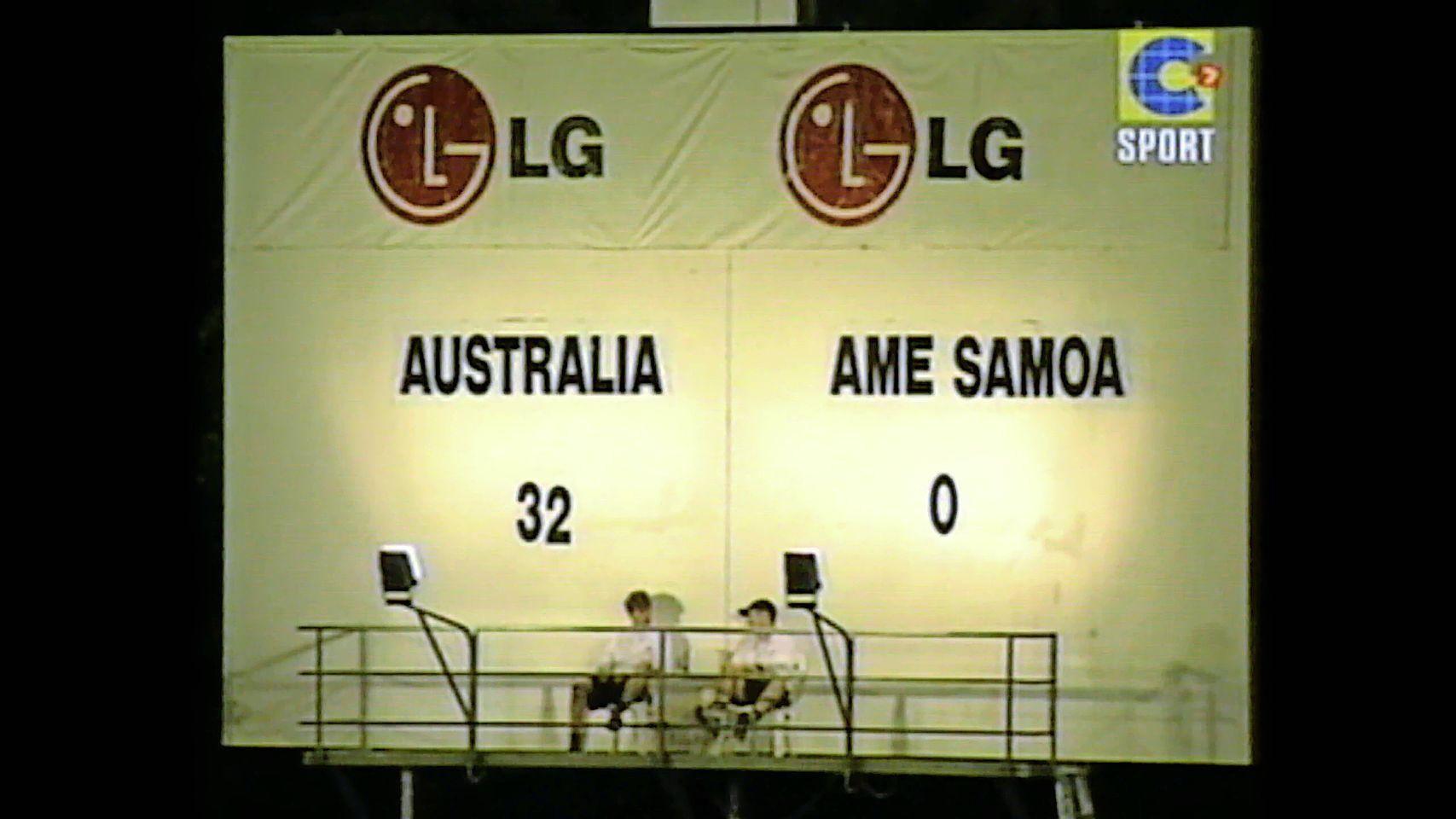 Today in 2001: Australia destroys American Samoa by 3 …
