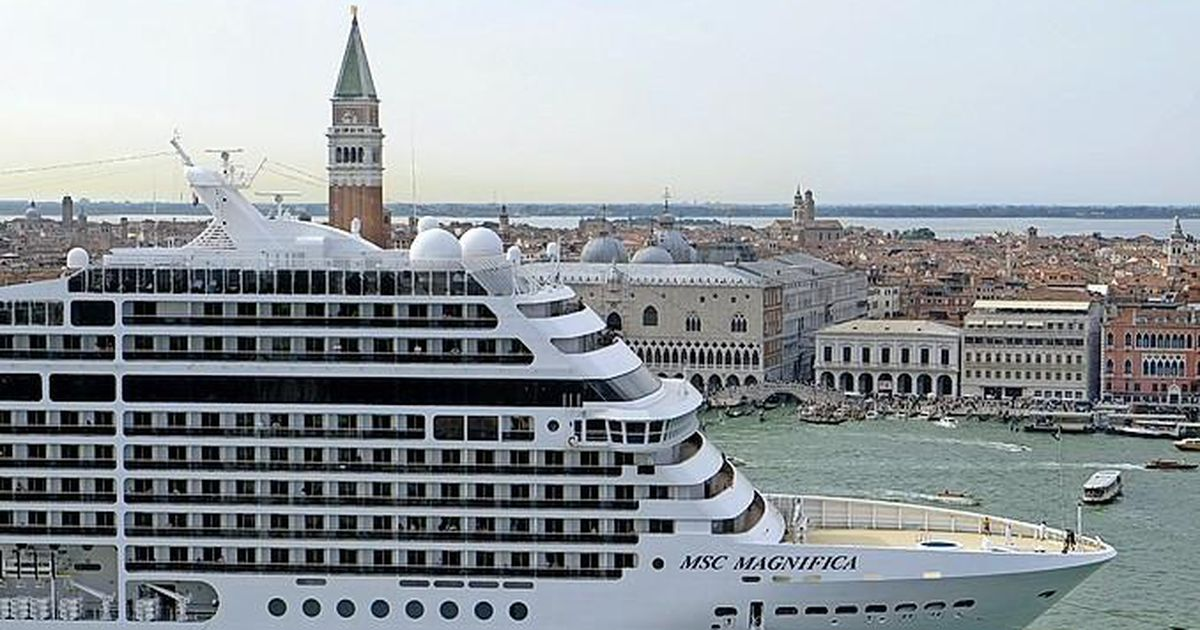 Venice bans cruise ships |  Abroad
