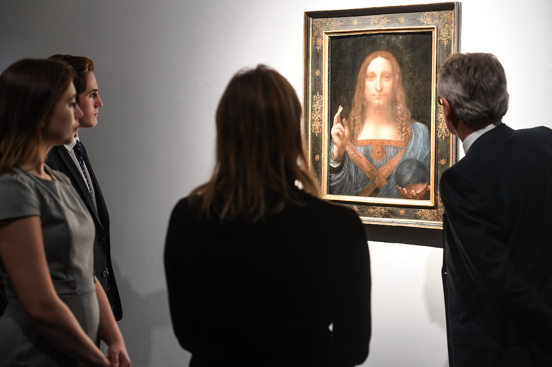What was the true contribution of Leonardo da Vinci to Salvatore Mundi?