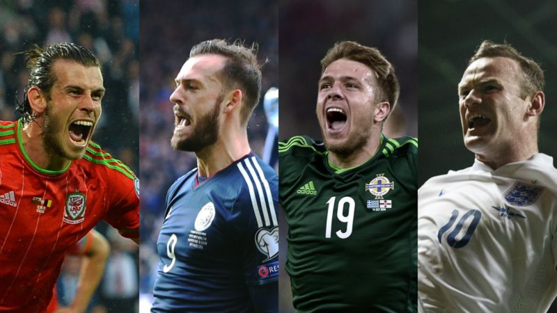 Will the British go to the European Championship with four countries?