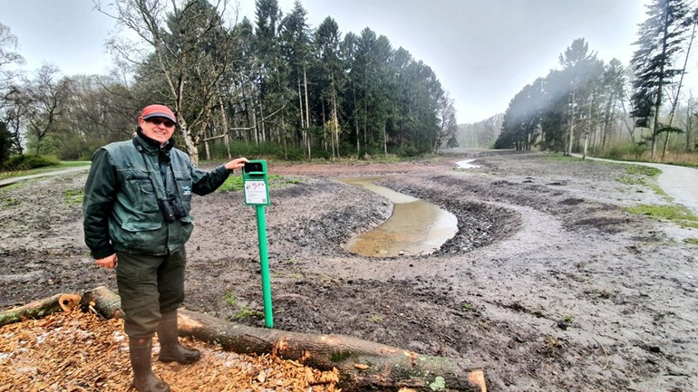 Wolvenvallei Kralingse Bos lends itself to more nature with its new 'rivers'