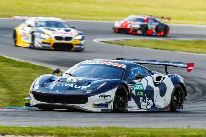 DTM Test Wednesday at Lacitsring: Coats, Alban and Lawson Set Speed + Times