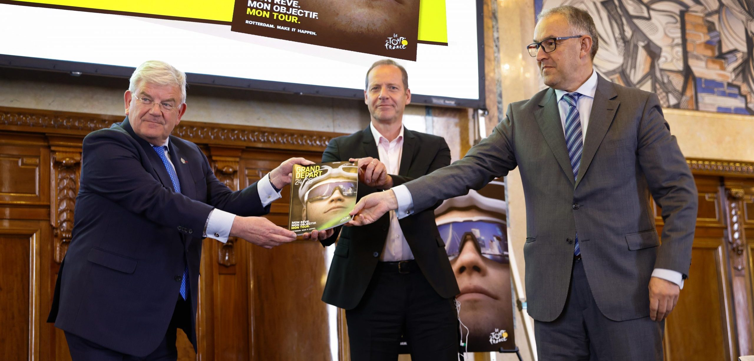 """ASO tour operator receives bid book in Rotterdam and The Hague: """"For us, this is an ideal nomination"""""""
