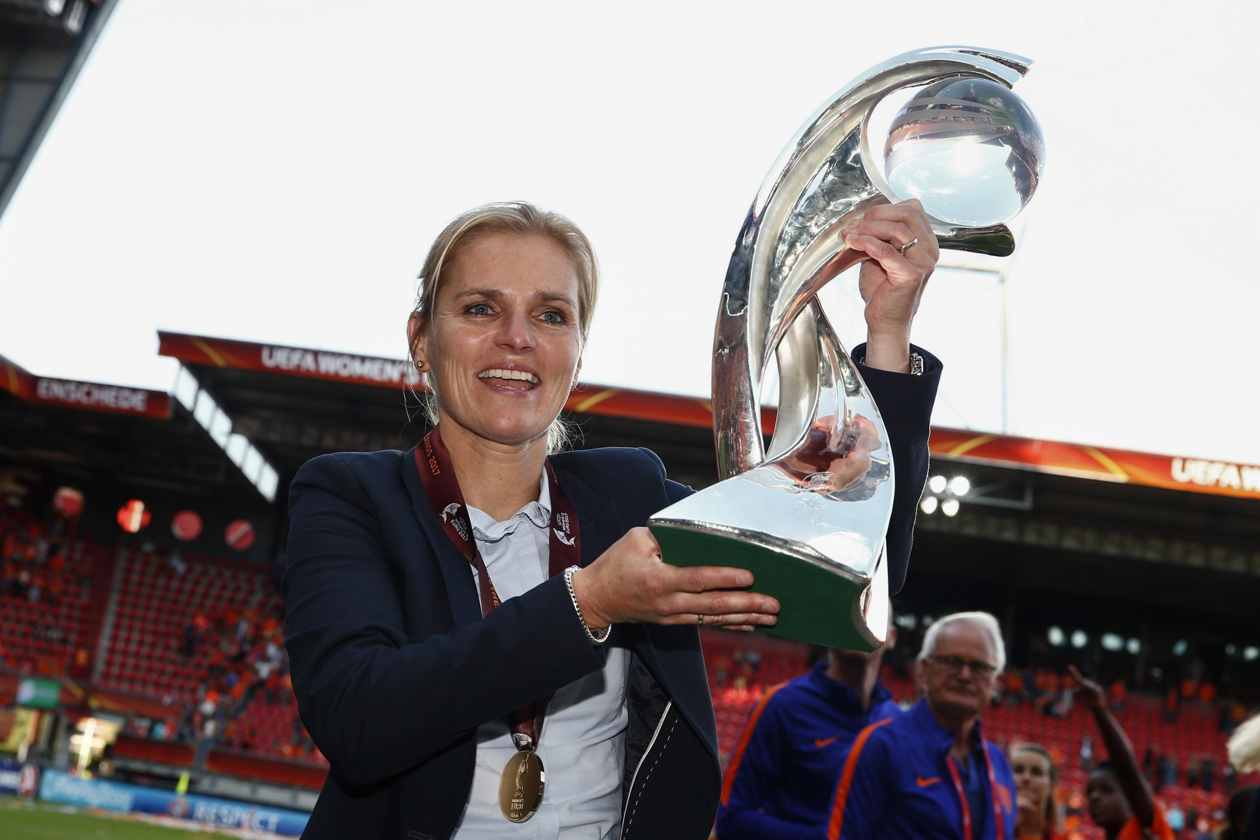 This is the successor to Sarina Wegmann, the national coach of the Dutch women's national team